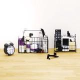 【ネコ/CAT(猫)】コスメバスケット・サークルバスケット・スクエアバスケット・リモコンラック