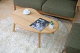 テーブル 幅100cm(ナチュラル)【MO-09】