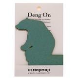 【キーボードのすき間に立てる伝言メモ】Deng On(シロクマ) 20枚綴り