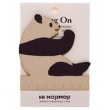 【キーボードのすき間に立てる伝言メモ】Deng On(パンダ) 20枚綴り