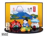 涼しげな「置物とインテリア」 日本一 わらべ飾り