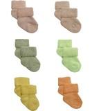 日本製!赤ちゃんの靴下。オーガニック落葉染めパイル新生児ソックス