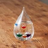 【Fun Science】ガラスフロート温度計しずくS