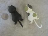 ★DECOLE 猫のしっぽマグネットフック