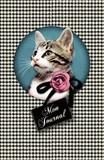 レ ケーク ド ベルトラン The pocket pad ミニノート  Charlie  <猫×薔薇>