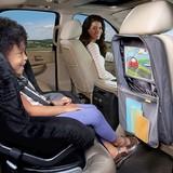 【BRICA】収納ポケット付きキックマット ≪ドライブのお出かけをぐっと快適に≫