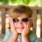 【REAL KIDS】サングラス・マイファーストシェイド ≪紫外線を99%CUT≫