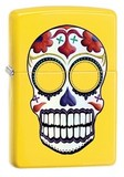 【Zippo】アメリカ直輸入!{ジッポーライター Day of the dead Funky Yellow#24894}