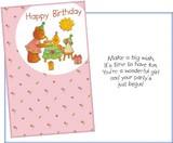 Stockwell Greetings グリーティングカード バースデー <くま×ぬいぐるみ×太陽>