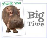 Stockwell Greetings グリーティングカード サンキュー用 <カバ>
