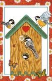 Stockwell Greetings グリーティングカード <バードハウス×ハート・鳥>