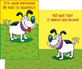 Stockwell Greetings グリーティングカード バースデー <犬>