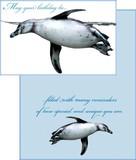 Stockwell Greetings グリーティングカード バースデー <ペンギン>