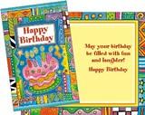 Stockwell Greetings グリーティングカード バースデー <ケーキ×キャンドル>