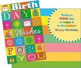 Stockwell Greetings グリーティングカード バースデー <ケーキ>