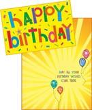 Stockwell Greetings グリーティングカード バースデー <風船>