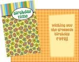 Stockwell Greetings グリーティングカード バースデー <プレゼント×ケーキ>