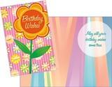Stockwell Greetings グリーティングカード バースデー <フラワー>