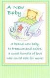 Stockwell Greetings グリーティングカード 出産祝い <ベビー×くま>