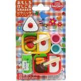 IWAKO Picnic Blister Pack Eraser