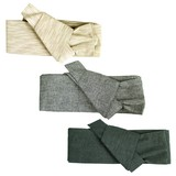 紳士しじらワンタッチ帯!浴衣用帯(ベージュ/濃いグレー/薄いグレー)メンズ