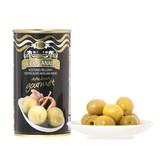 【スペインで収穫されたグリーンオリーブ使用】アンチョビ入りオリーブ