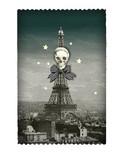 レ ケーク ド ベルトラン LES CAKES DE BERTRAND PARIS    カードケース ドクロ エッフェル塔