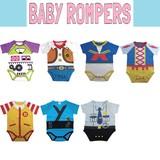 【ベビー】半袖ロンパース * 赤ちゃん用のウエアです♪