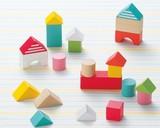 ♪天然素材♪ キンダーシュピール ハッピーセット 積み木☆KinderSpiel☆木製玩具☆木のおもちゃ