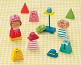 ♪天然素材♪ キンダーシュピール ハッピーセット Boy&Girl ☆KinderSpiel☆木製玩具☆木のおもちゃ
