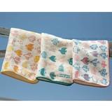 Towel Handkerchief Line Bird
