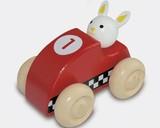 ♪天然素材♪ ウッデントイ レーシングカー ラビット ☆Wooden toy☆木製玩具☆木のおもちゃ
