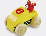 ♪天然素材♪ ウッデントイ レーシングカー ベアー ☆Wooden toy☆木製玩具☆木のおもちゃ