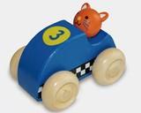 ♪天然素材♪ ウッデントイ レーシングカー キャット ☆Wooden toy☆木製玩具☆木のおもちゃ