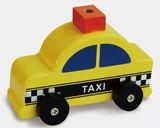 ♪天然素材♪ ウッデントイ タクシー ☆Wooden toy☆木製玩具☆木のおもちゃ
