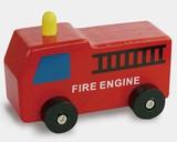 ♪天然素材♪ ウッデントイ ファイヤーエンジン ☆Wooden toy☆木製玩具☆木のおもちゃ