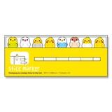 【stick marker collection】スティックマーカー 付箋 インコ