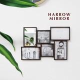 * 鏡付きフォトフレーム *インテリア【HARROW MIRROR】ハロウ ミラー フレーム こだわりフォトフレーム