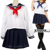 Women Sailor Suit Scarf 2 Colors Cosplay Costume