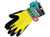 【抜群のグリップ力!力仕事に役立つ手袋です】ワークマングローブ スーパーグリップ Mサイズ