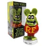 BIG DADDYエドロスの名キャラクター『RAT FINK』!【ボビングヘッド★ラットフィンク(グリーン)】