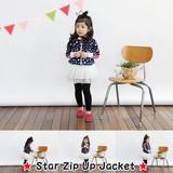 Star Zip Up Jacket/スター ジップ アップ ジャケット
