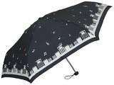 ◆2014 A&W新作◆ 【エルソポ】婦人用折りたたみ雨傘 プレゼントフォーにゃー