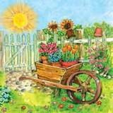 Daisy  ペーパーナプキン <太陽・フラワー・庭>