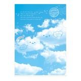 【A4・100円】クリアホルダー(おはなし雲)