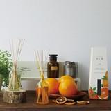 ディフューザー【木と果】消臭剤入りルームフレグランス〈4種の香り〉日本製