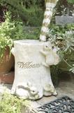 【玄関でかわいい動物達がお出迎え】【アンブレラスタンド】レイニースクイレルハウス