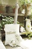 【玄関でかわいい動物達がお出迎え】【アンブレラスタンド】レイニーラビットハウス
