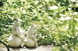 【ちょこんと腰掛けカエル】【ガーデンオーナメント】シッティングフロッグ