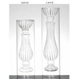 GLASS FLOWER VASE Art deco